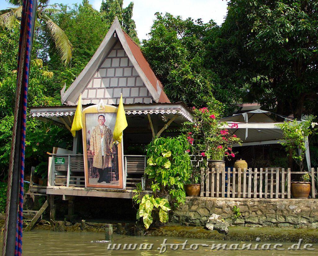 Eine Bootstour durch die Khlonks von Bangkok