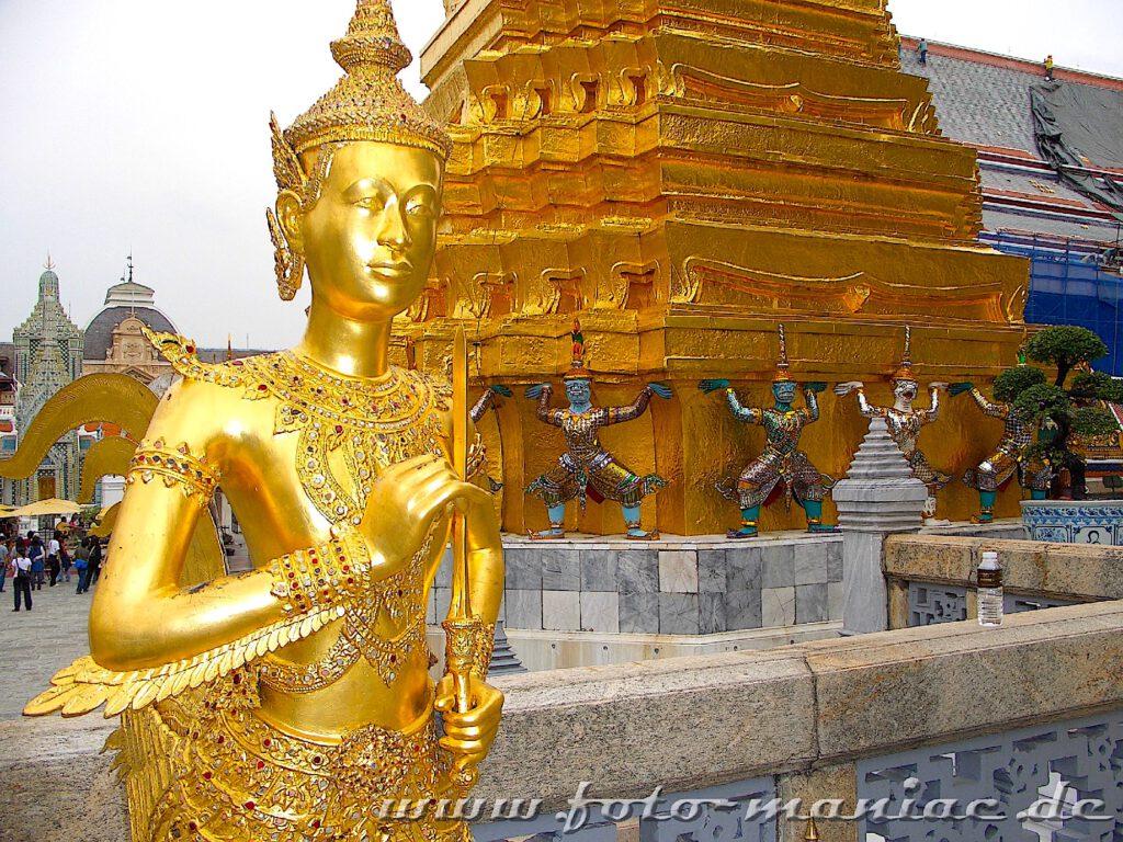 Zu Thailands schmucken Juwelen gehört auch der Große Palast in Bangkok