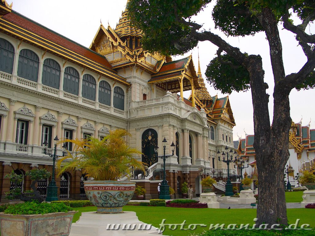 Gebäude des Großen Palastes in Bangkok