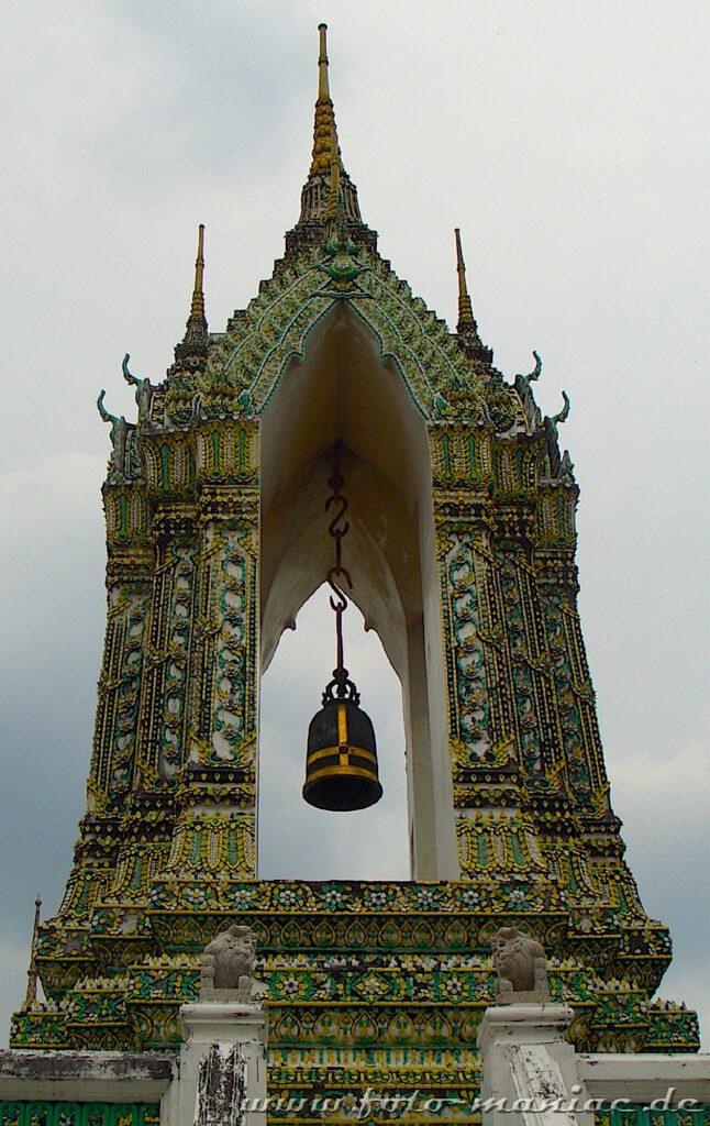 Glocke im Tempel Wat Pho in Bangkok