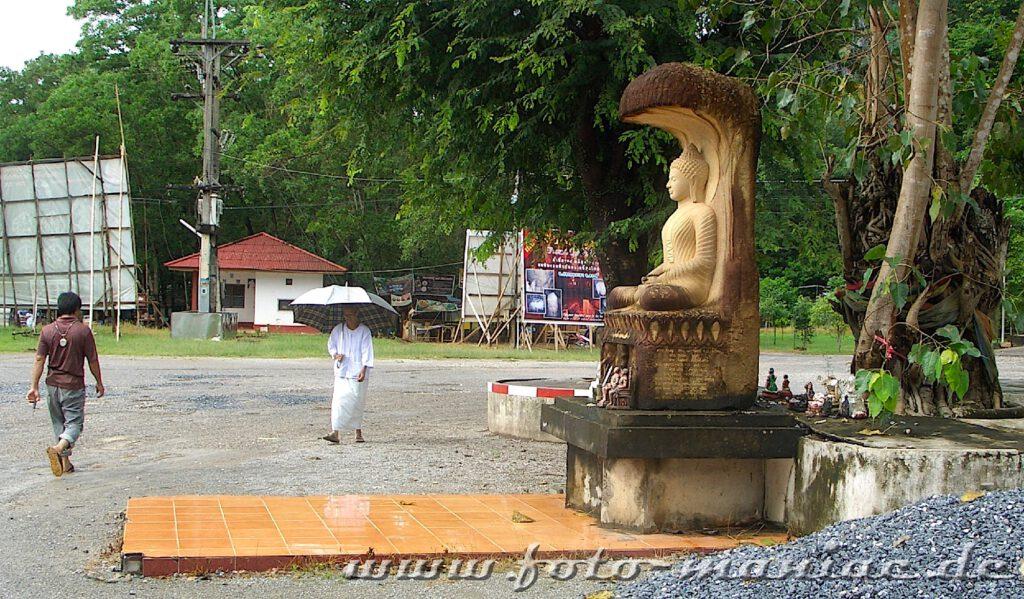 Eine Buddhafigur