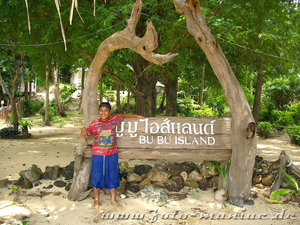 Die einsame Insel Bu Bu Island