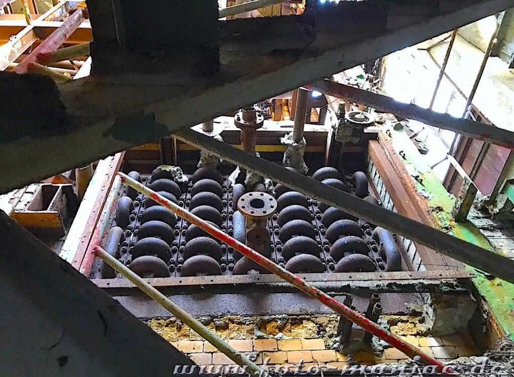 Das verlassene RAW in Halle - Blick in eine Werkstatt