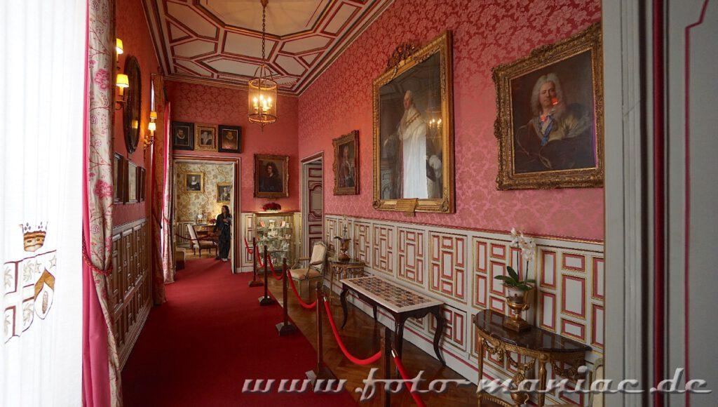 Das reizvolle Chateau Cheverny mit schöner Galerie