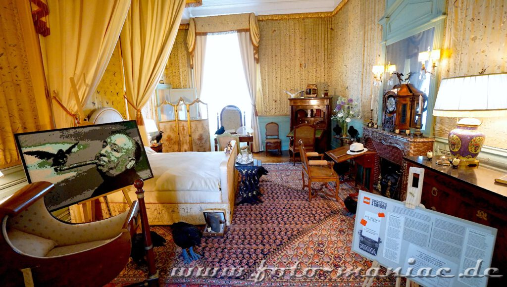 Schlafzimmer im Chateau Cheverny