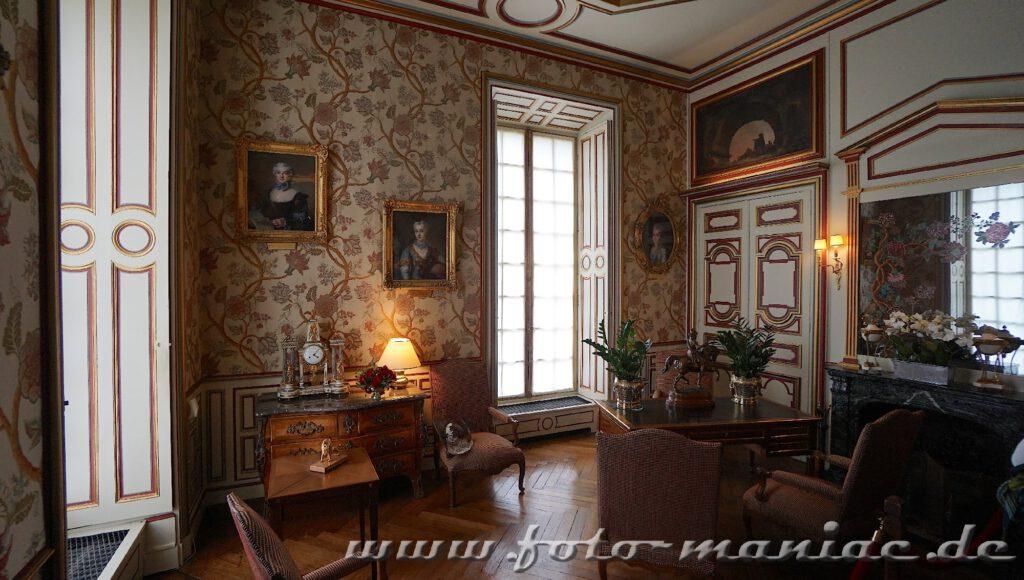 Ein Zimmer im Chateau Cheverny