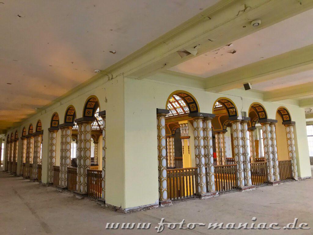 Eine Etage im Stöcker-Kaufhaus